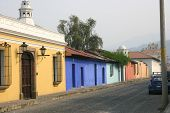 Colorful Housing In Antigua