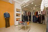 the cloth boutique interior photo
