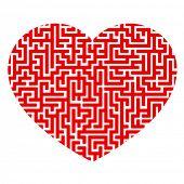 Heart as maze.