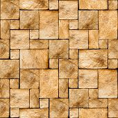 Stony wall seamless background. (See more seamless backgrounds in my portfolio).