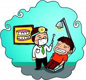 Patient In The Dental Clinic.