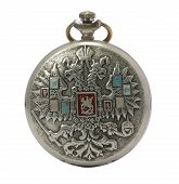 Antique Pocket Watch Isolated
