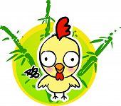 Cartoon Chinese Zodiac - Chick