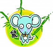 Cartoon Chinese Zodiac - Mouse