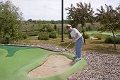 Mini Golf Course Bunker