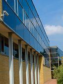 Columns Of Modern Building
