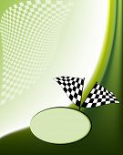 Race flag checkered background