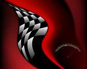 Race Sports Background design