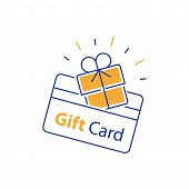 Loyalty Card, Incentive Gift, Collecting Bonus, Earn Reward, Redeem Gift, Shopping Perks, Discount C poster