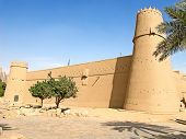 stock photo of riyadh  - Al Masmak fort in the Riyadh city - JPG