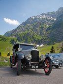 SCHWAEGALP - JUNE 27: The Vauxhall oldtimer on the 7th International