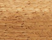 Brown Scratched Wooden Board For Cutting - Beautiful Texture Of Dark Wood With Scratches poster