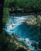 an image of rafting on the water in Turkey