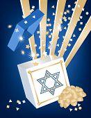 Hanukkah Geschenk-box