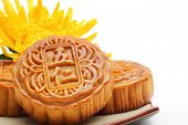 Mooncake ,food for Chinese mid autumn festival.