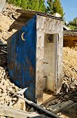Crescent Moon Outhouse