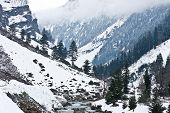 Mountains, Sonamarg, Kashmir, India