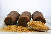 Piloncillo Mexican Brown Sugar with Spoon