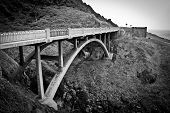 Cook's Chasm Bridge, Oregon Coast