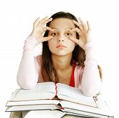 Teenage Girl Learning
