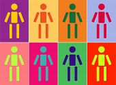 vector illustration of diversity of people