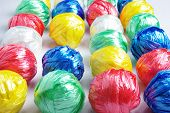 picture of waste reduction  - Colorful Ball Creativity by Plastic Rope Recycle - JPG