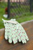 Green Garden Gloves