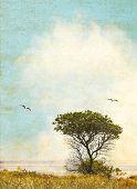 Vintage Grunge Tree