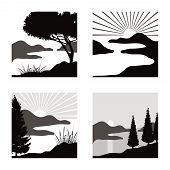 landscape pictograms