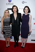 LOS ANGELES - JUN 10:  Joanne Froggatt, Elizabeth McGovern, Michelle Dockery arrives at An Evening w