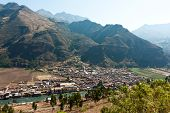 Pisac, Peru, On The Urubamba River