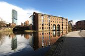 Beetham Tower And Canal Reflection, Castlefield, Manchester