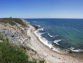 Mohegan Bluffs Block Island Ri