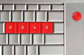 Ddos Spelled On Keyboard