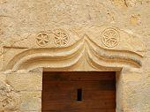 Medieval Carved Stone Lintel