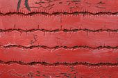 Red tire texture
