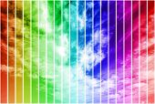 Multicolor Sky Illustration
