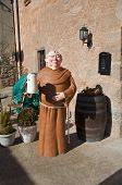 Monk Doll With Beer