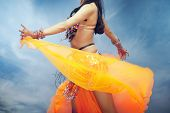 Belly Dance Outdoors