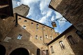 Street View Of Italian City