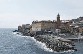 stock photo of genova  - genova nervi a beautiful village near genova - JPG