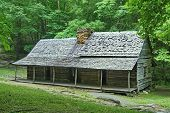 Log Cabin in the Smoky Mountains