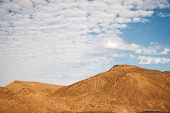 Sand dunes and rocks, Sahara Desert