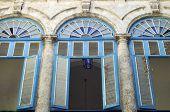 Windows en Palacio, Cabo Segundo en la Habana, Cuba