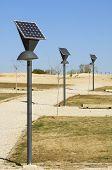 Laternen und Photovoltaik-panel