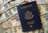 US Passport and Cash