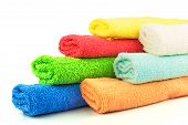 Several Colorful Towels
