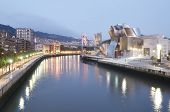 BILBAO, SPAIN - JULY 30: Guggenheim Museum on July 30, 2011 in Bilbao, Spain. This Museum is dedicat