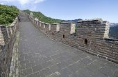 view of the Simatai Great Wall of China, Beijing, China