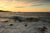 Sunset Over Ile Rousse, Corsica